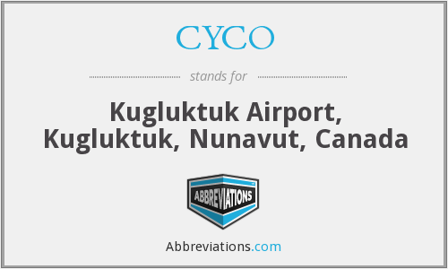CYCO - Coppermine Airport, Canada