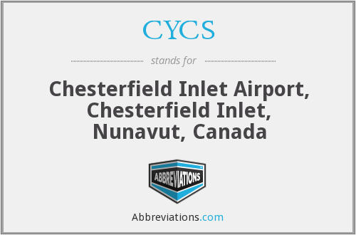 CYCS - Chesterfield Inlet Airport, Canada