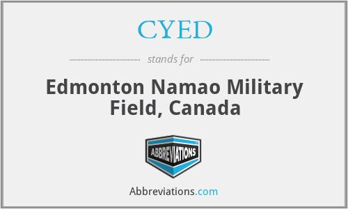 CYED - Edmonton Namao Military Field, Canada