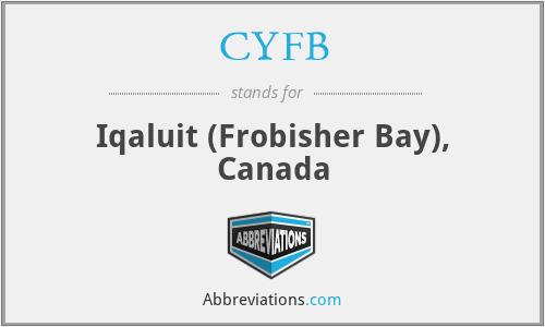 CYFB - Iqaluit (Frobisher Bay), Canada