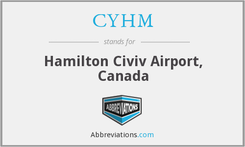 CYHM - Hamilton Civiv Airport, Canada