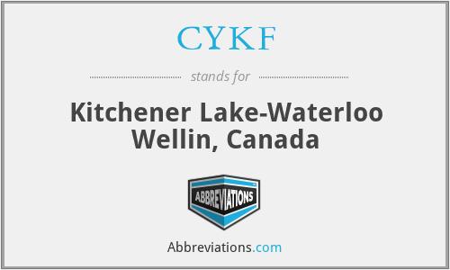 CYKF - Kitchener Lake-Waterloo Wellin, Canada