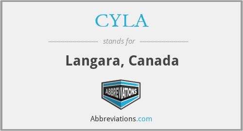 CYLA - Langara, Canada