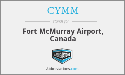 CYMM - Fort McMurray Airport, Canada