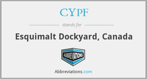 CYPF - Esquimalt Dockyard, Canada