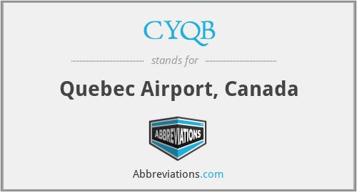 CYQB - Quebec Airport, Canada
