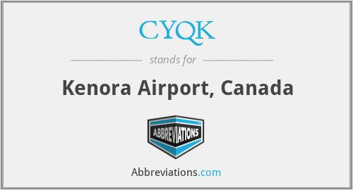 CYQK - Kenora Airport, Canada