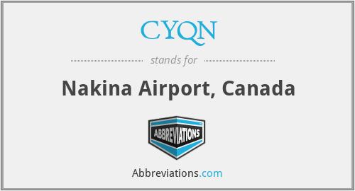 CYQN - Nakina Airport, Canada