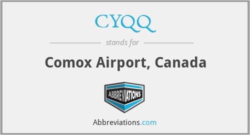 CYQQ - Comox Airport, Canada