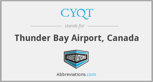 CYQT - Thunder Bay Airport, Canada