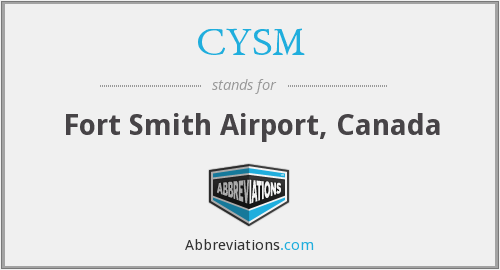 CYSM - Fort Smith Airport, Canada