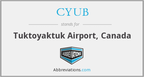 CYUB - Tuktoyaktuk Airport, Canada