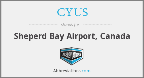 What does CYUS stand for?