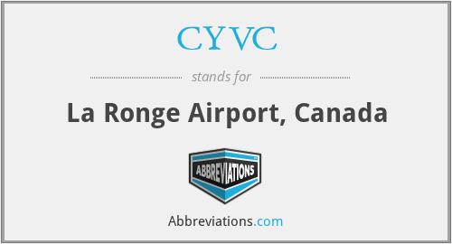 CYVC - La Ronge Airport, Canada