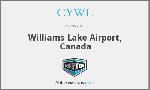 CYWL - Williams Lake Airport, Canada