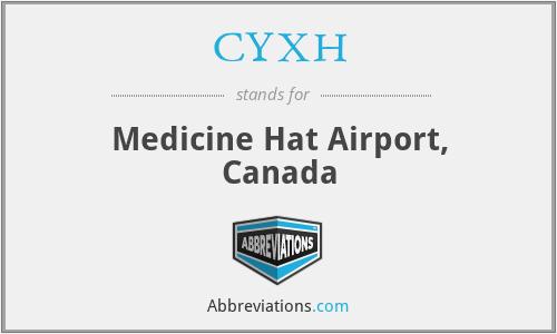 CYXH - Medicine Hat Airport, Canada