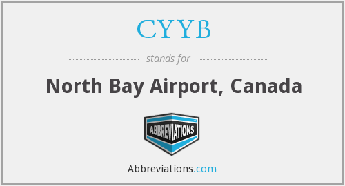 CYYB - North Bay Airport, Canada