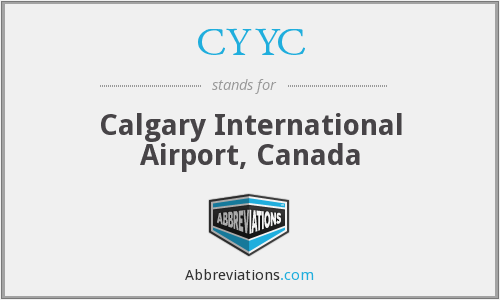 CYYC - Calgary International Airport, Canada