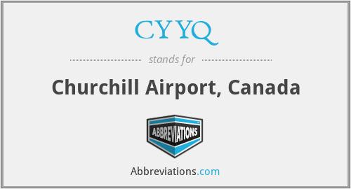 CYYQ - Churchill Airport, Canada