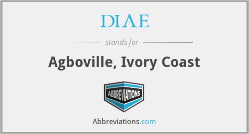 DIAE - Agboville, Ivory Coast