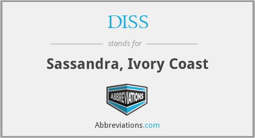 DISS - Sassandra, Ivory Coast