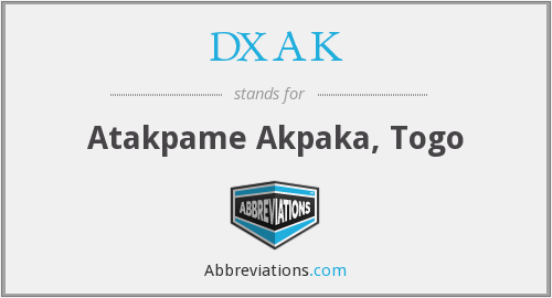 DXAK - Atakpame Akpaka, Togo