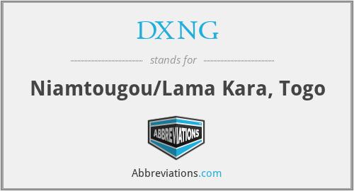 DXNG - Niamtougou/Lama Kara, Togo
