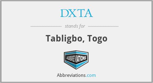 DXTA - Tabligbo, Togo