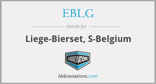 EBLG - Liege-Bierset, S-Belgium
