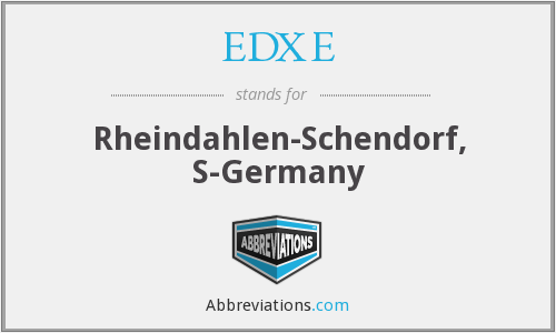 What does EDXE stand for?