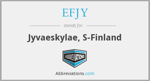 What does EFJY stand for?