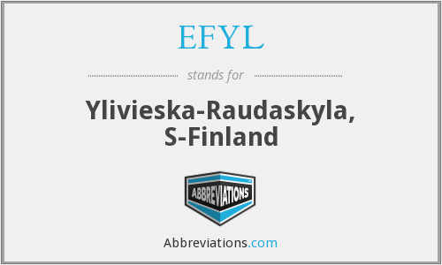 What does EFYL stand for?