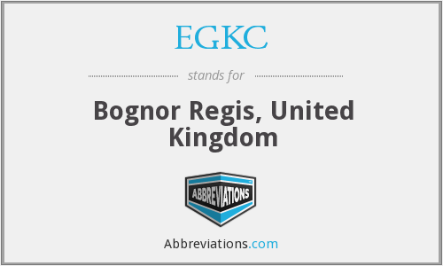 EGKC - Bognor Regis, United Kingdom