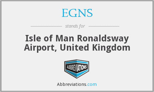 EGNS - Isle of Man Ronaldsway Airport, United Kingdom