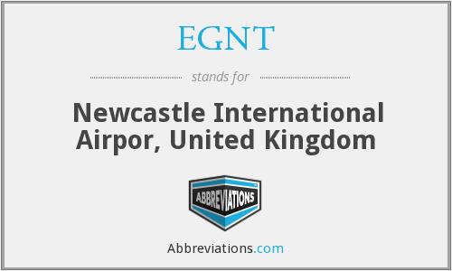EGNT - Newcastle International Airpor, United Kingdom