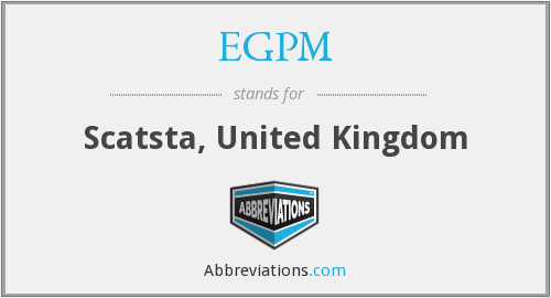 EGPM - Scatsta, United Kingdom