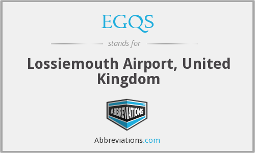 EGQS - Lossiemouth Airport, United Kingdom