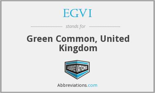 EGVI - Green Common, United Kingdom
