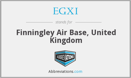 EGXI - Finningley Air Base, United Kingdom