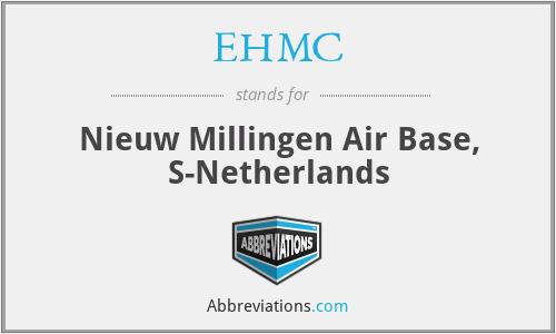 EHMC - Nieuw Millingen Air Base, S-Netherlands
