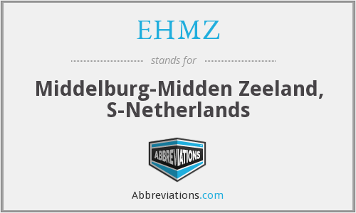 What does EHMZ stand for?