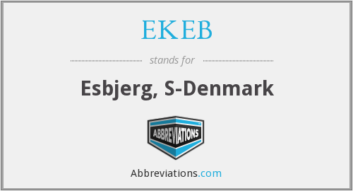 What does EKEB stand for?