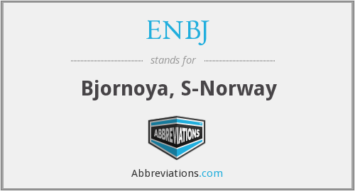 ENBJ - Bjornoya, S-Norway