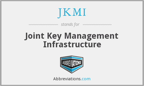 JKMI - Joint Key Management Infrastructure