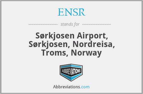 ENSR - Sørkjosen Airport, Sørkjosen, Nordreisa, Troms, Norway