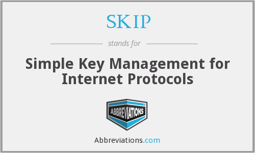SKIP - Simple Key Management for Internet Protocols