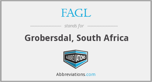 FAGL - Grobersdal, South Africa