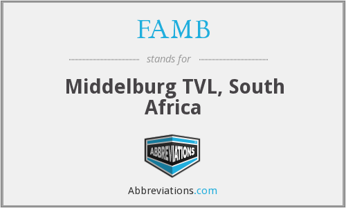 FAMB - Middelburg TVL, South Africa