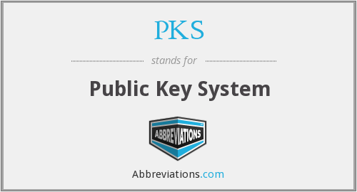 PKS - Public Key System