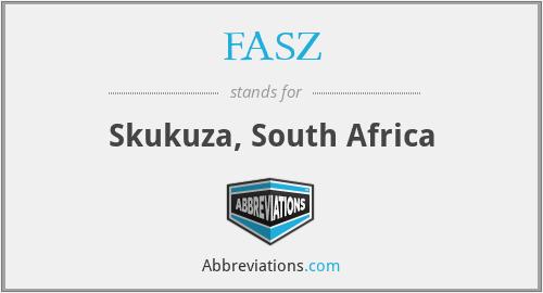 FASZ - Skukuza, South Africa